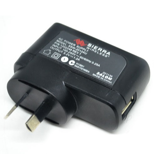 harga Adapter Charger for Sierra Wireless AirCard 754S / 753S / 760S - 5.2V 1A - Black elevenia.co.id
