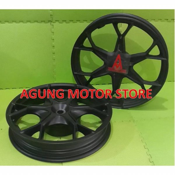 harga Ready Velg Racing / Cast Wheel PAKO Hitam Honda VARIO 125 / 150 / PCX elevenia.co.id