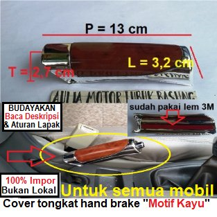 harga Garnish Chrome Cover Hand Brake Tongkat Rem Tangan Original Long Yi Motif Kayu Toyota Daihatsu Isuzu Chevrolet Suzuki Honda Mercy Nissan Dll elevenia.co.id