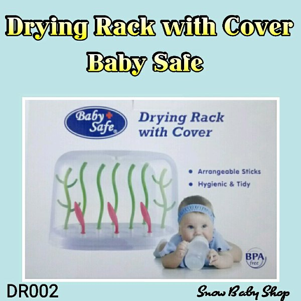 harga Baby Safe DR002 Rak Pengering dengan Tutup Drying Rack With Cover elevenia.co.id