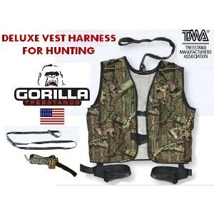 harga DELUXE VEST HARNESafety Belt Full Body Harness for HUNTING elevenia.co.id