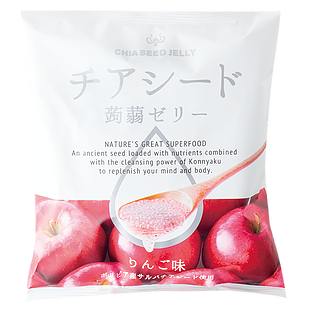harga CHIA SEED JELLY APPLE Nature Great Superfood Konnyaku Japan Diet elevenia.co.id