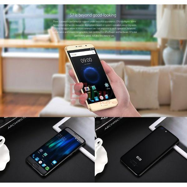 harga 'Elephone S7' 4G Phablet 4GB RAM + 64GB ROM Android 6.0 Helio X20 Deca Core 2.0GHz FHD Screen 13.0MP + 5.0MP Fingerprint Sensor elevenia.co.id