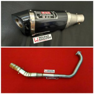 harga Knalpot Racing NEW CB150R YOSHIMURA R11 CARBON elevenia.co.id