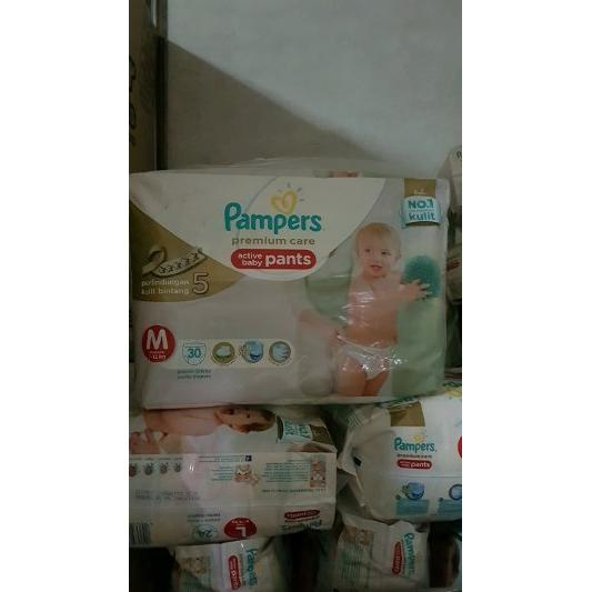harga Pampers m30 premium care day pants elevenia.co.id