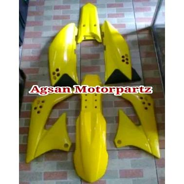 harga Full cover body klx s klx 150 s kuning original kawasaki elevenia.co.id