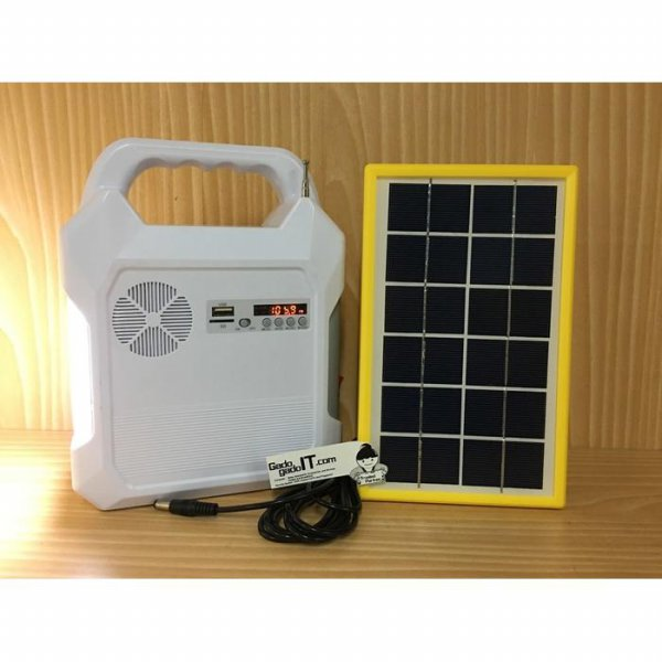 harga Lampu Emergency SURYA SPS L43 Solar Panel+Speaker Music,RadioPowerbank elevenia.co.id