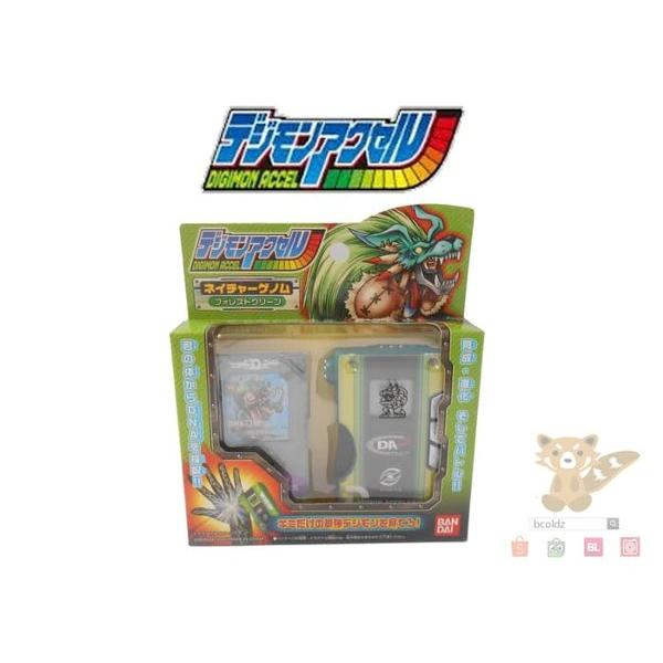 harga Bandai Digimon Digivice Accel Nature Genome Green Mercurymon elevenia.co.id