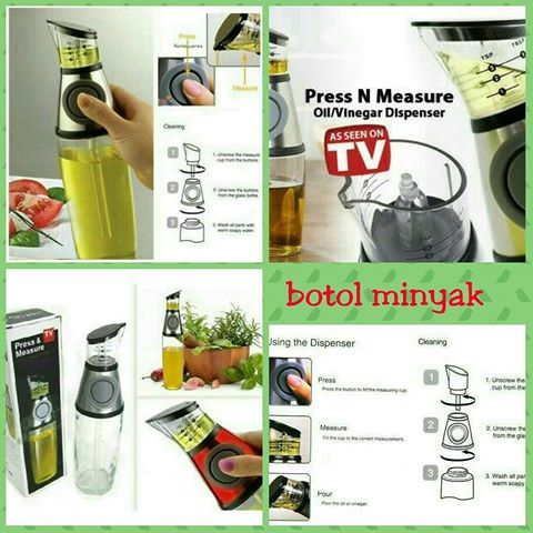 harga Botol Wadah Tempat Minyak Goreng / Kecap Press And Measure Dispenser elevenia.co.id