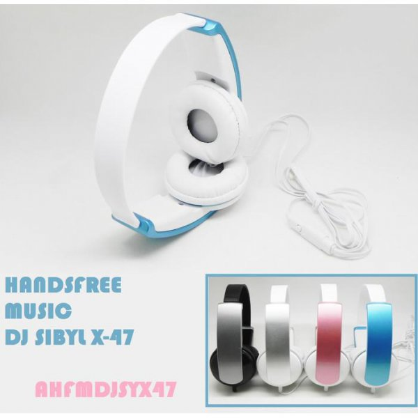 harga [M.G]Headphone/Handsfree Music DJ Sibyl Mic X47 elevenia.co.id
