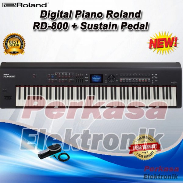 harga [Recommended] Digital Piano Roland RD 800 / RD800 / RD-800 elevenia.co.id