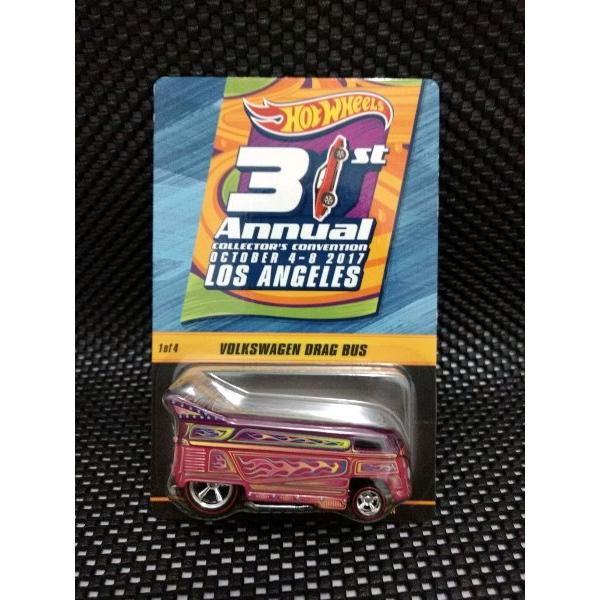 harga Hotwheels 31st Annual Collectors Convention Los Angeles VW Drag Bus Pink elevenia.co.id