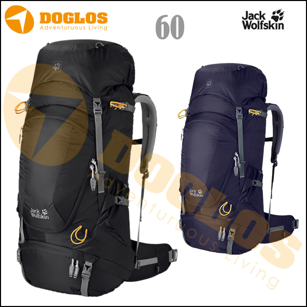 harga Jack Wolfskin HIGHLAND TRAIL XT 60 Tas gunung Carrier jws Hiking Black elevenia.co.id