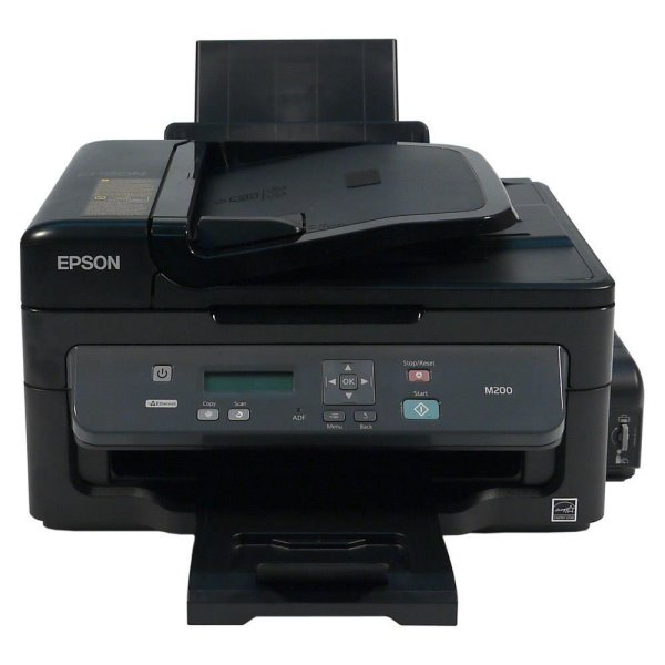 harga Printer EPSON All In One InkJet Black Tank System M200 Resmi ( Print,Scan,Copy + Ethernet Port ) elevenia.co.id