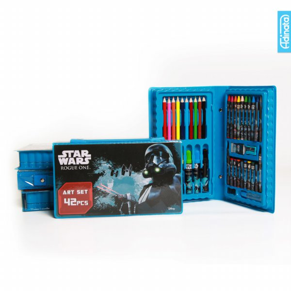 harga Star Wars Art Set 42 pcs Adinata / Alat Mewarnai / Crayon elevenia.co.id