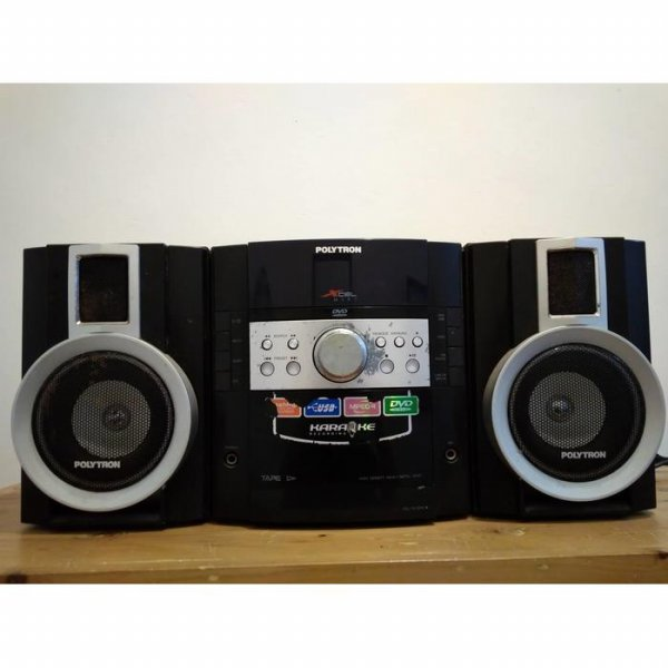 harga Promo Terlaris Polytron XL 2800 Black Mini HiFi tape speaker aktif / speaker laptop / speaker super bass elevenia.co.id