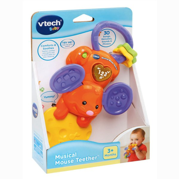 harga VTech Baby Musical Mouse Teether elevenia.co.id