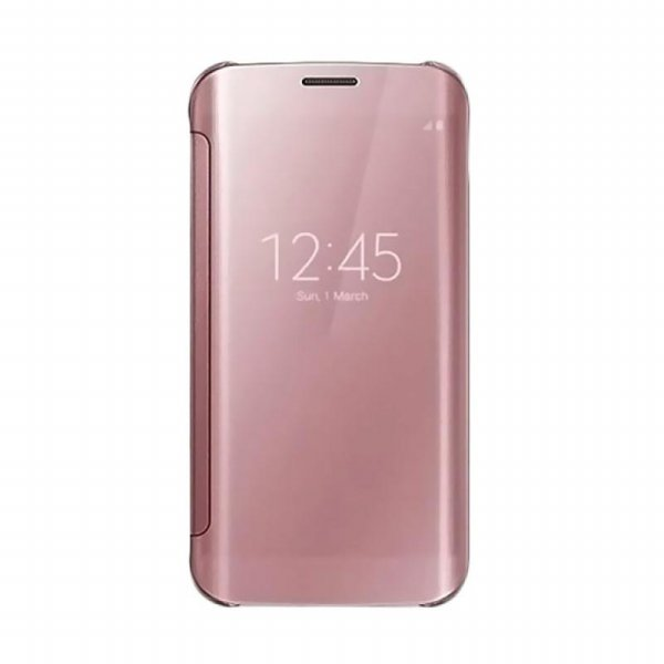 harga Flip Mirror View Case Wallet Standing iPhone 8 - Rose Gold elevenia.co.id