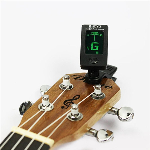 harga JOYO gitar tuner ukulele dan bass Clip-on Digital Chromatic elevenia.co.id