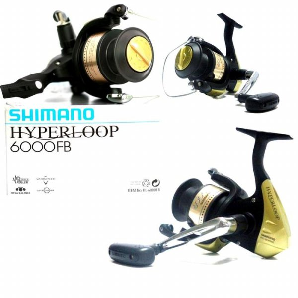 harga Reel Pancing Shimano Hyperloop 6000 FB 2 BB Drag 6 kg elevenia.co.id