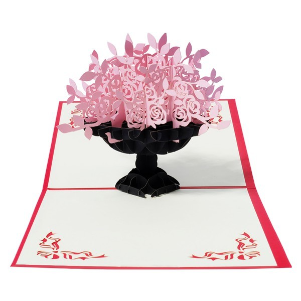 harga OUTERBLOOM PINK BLOSSOM 3D CARD elevenia.co.id