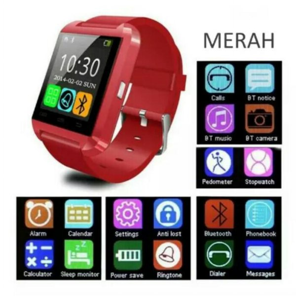 harga Smartwatch U Watch U8 elevenia.co.id