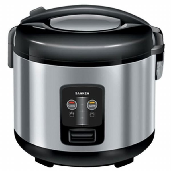 harga Sanken Magic Com Rice Cooker 1.8L Stainless Steel SJ210 elevenia.co.id