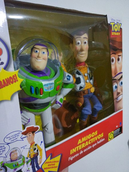 harga WOODY  BUZZ LIGHTYEAR - DISNEY TOY STORY - THINKWAY TOY ORIGINAL elevenia.co.id