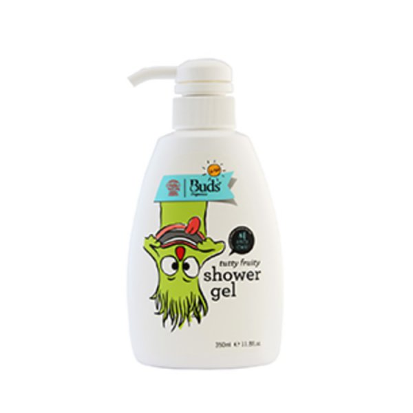 harga Buds Shower Gel Tutty Fruity-Sabun Cair Bayi-Sabun Mandi Anak Organik-Body Wash Kulit Sensitif elevenia.co.id