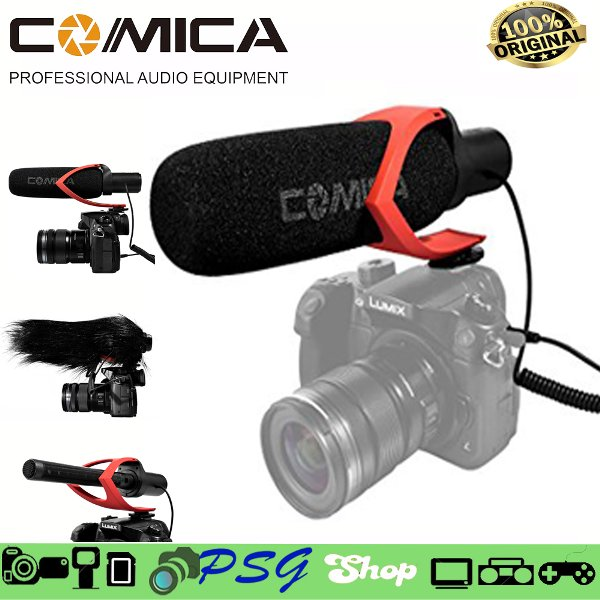 harga Comica CVM-V30 Directional Mic Shotgun Video Kamera Microphone elevenia.co.id