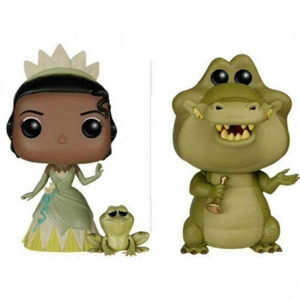 harga [Gold Product] Funko POP! Set Promotion - Disney The Princess and the Frog elevenia.co.id