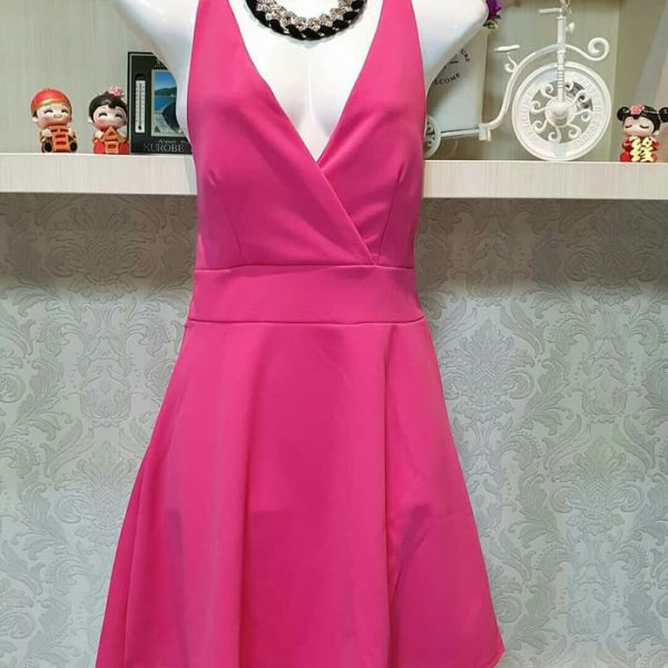 harga Baju Fashion Cewek Wanita Sexy Back Dress Import Best Seller elevenia.co.id