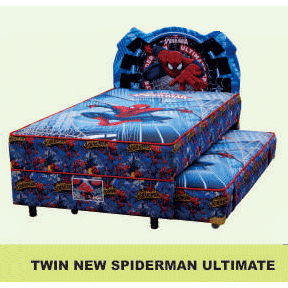 harga Bigland Kasur Springbed 2 in 1 New Spiderman Ultimate (WASHABLE) - Full Set - 120x200 elevenia.co.id