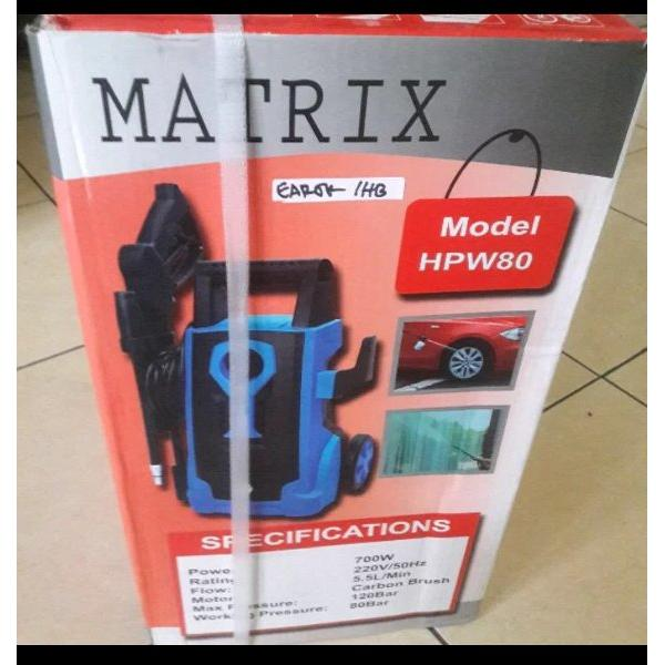 harga HPW80 JET CLEANER HIGH PRESSURE PORTABLE UTK CUCI STEAM MOTOR MOBIL KARPET TEKANAN TINGGI JET CLEANER MATRIX HPW80 elevenia.co.id