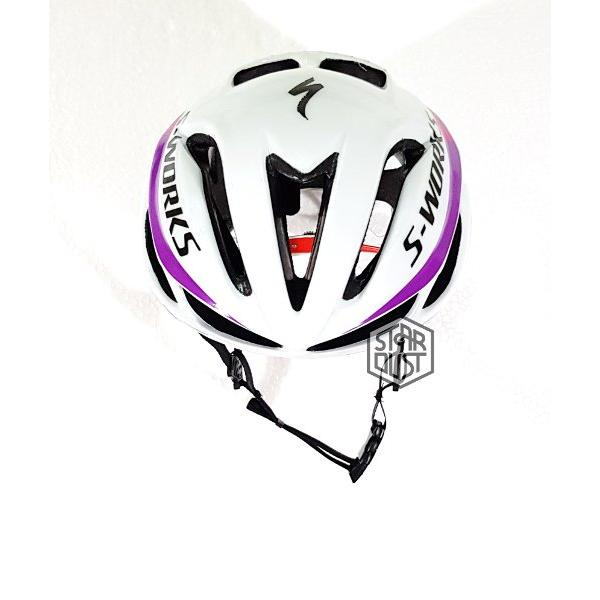harga Helm Specialized Evade WHITE PURPPLE PINK - ACM- elevenia.co.id