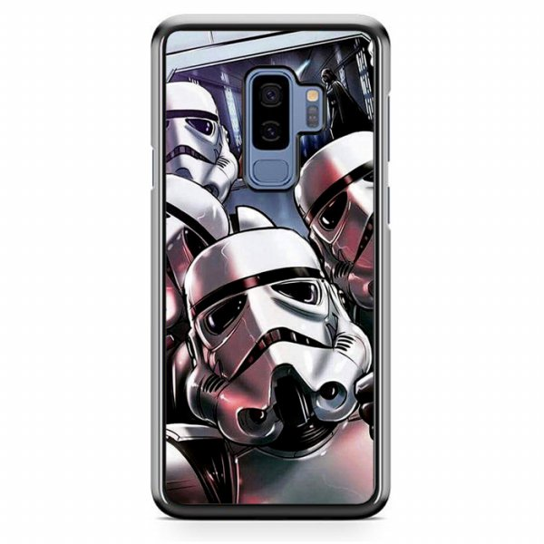 harga Star Wars Stormtrooper Selfie Z4205 Samsung Galaxy S9 | S9 Plus Custom Case elevenia.co.id