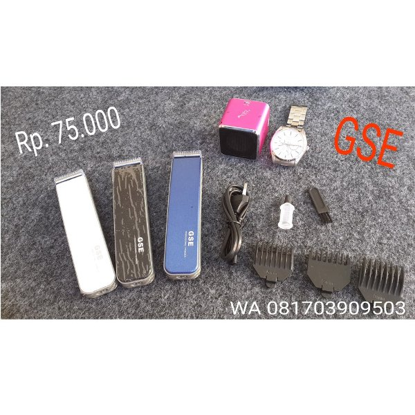 harga Hair Cliper Mini GSE Barbershop Salon elevenia.co.id