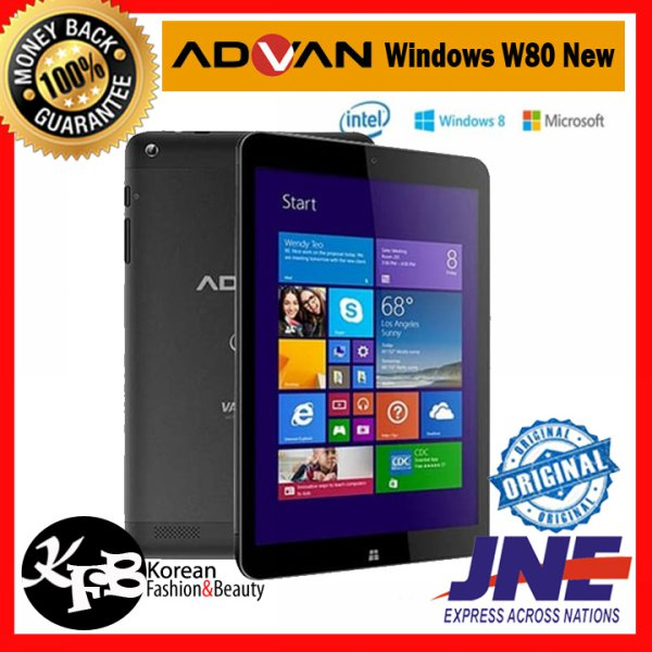 harga Tablet Advan Windows W80 New / Windows 8.1 - ORIGINAL elevenia.co.id
