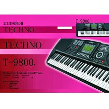 harga Organ/piano techno T-9800i elevenia.co.id