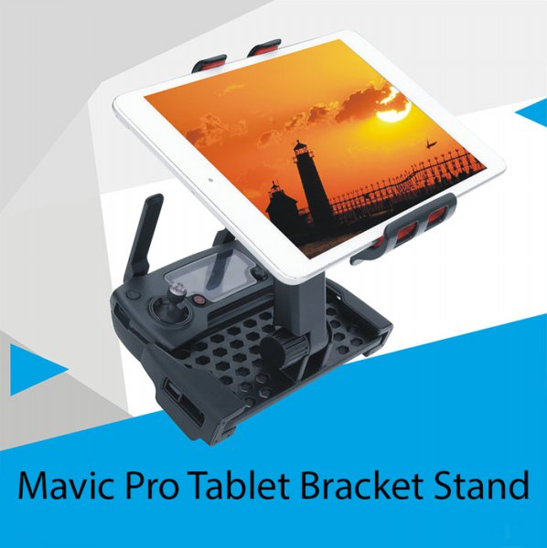 harga DJI Mavic Pro Remote Tablet Monitor Display Bracket Hol elevenia.co.id