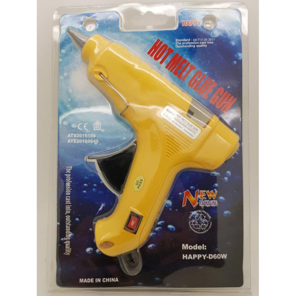 harga Glue Gun BESAR 60 watt Saklar ON-OFF Merk HAPPY / Lem Tembak elevenia.co.id