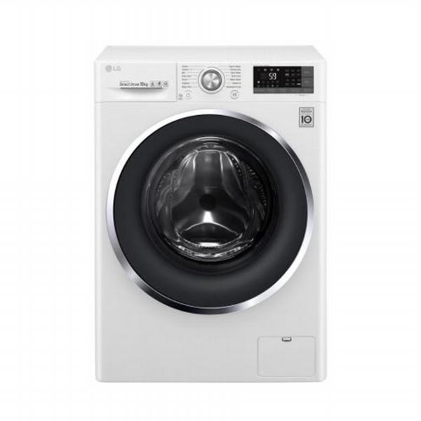 harga LG FC1409S3W Mesin Cuci Front Loading [9 Kg/Inverter Direct Drive/LED Display] + Free Delivery elevenia.co.id