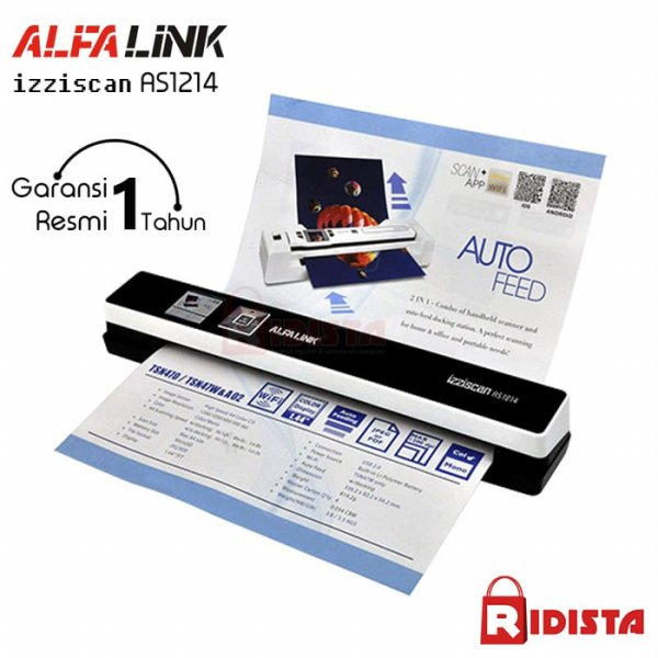 harga Alfalink izziscan Portable Scanner AS 1214 elevenia.co.id