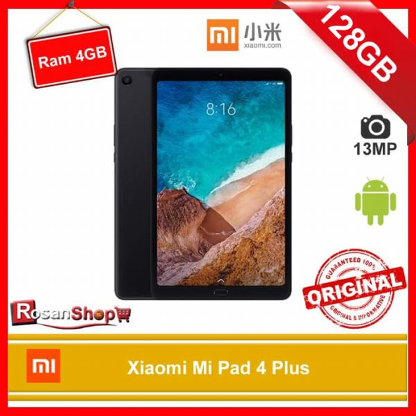 harga TABLET XIAOMI MI PAD 4 Plus - MIPAD 4 Plus - 128GB RAM 4GB - LTE Versi elevenia.co.id