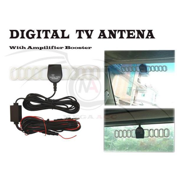 harga DIgital TV Antenna With Amplifier Booster elevenia.co.id