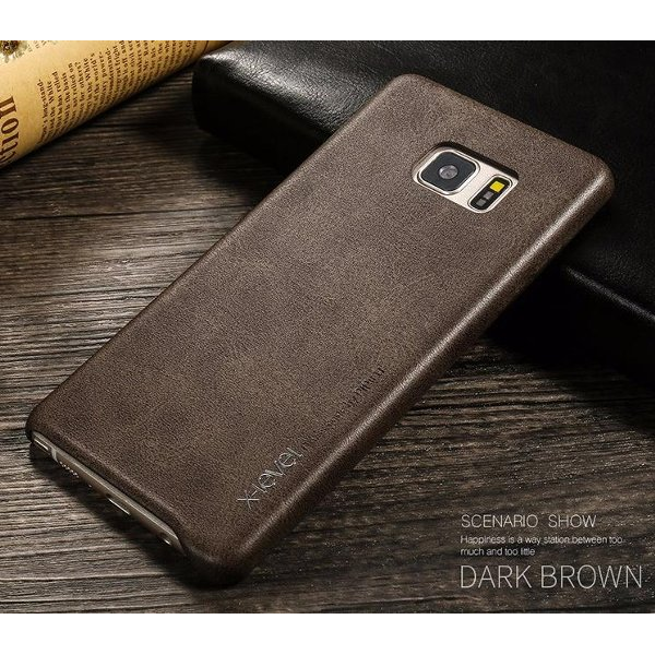 harga X-LEVEL VINTAGE Casing Handphone Samsung Galaxy Note 7 FE Fan Edition Leather Case Hard Softcase Back Cover Casing Kulit elevenia.co.id