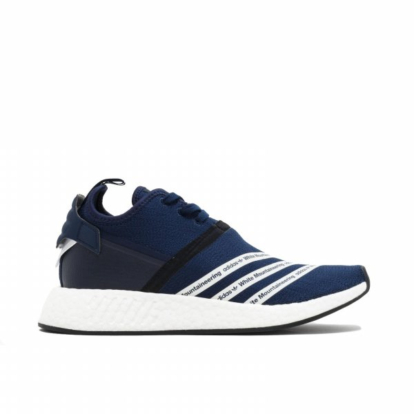 harga ADIDAS NMD R2 WHITE MOUNTAINEERING NAVY BLUE elevenia.co.id