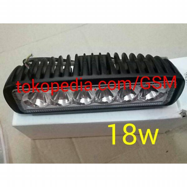harga LED Bar Lampu sorot LED tembak Offroad Drl waterproof motor mobil elevenia.co.id