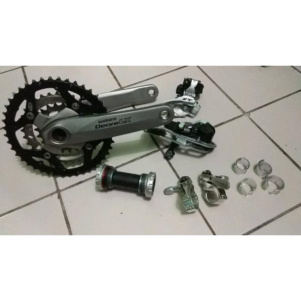 harga Groupset Touring Shimano Deore LX XT Velo Orange Grand Compe Shifter 9 Speed Istimewa elevenia.co.id
