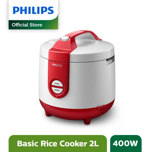 Philips Rice Cooker - Merah - HD3119/32